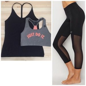 Nike Bundle - Bra, Yank, Tights